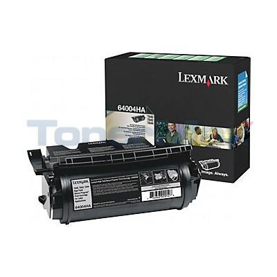 LEXMARK T644 RP PRINT CTG FOR LABEL APPS BLACK 21K